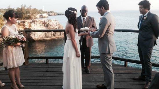 Villas Sur Mer : Our sunset wedding