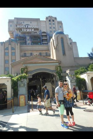 Walt Disney Studios: Hollywood tower of terror - our favourite ride!