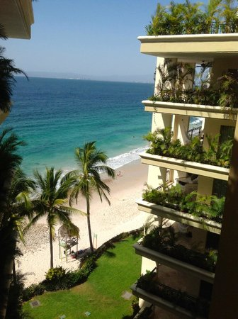 Garza Blanca Preserve, Resort & Spa: View from the 21st floor