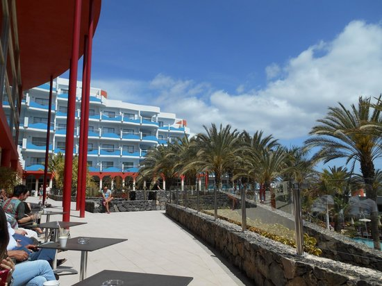 Hotel R2 Pajara Beach Hotel & Spa: View from the terrace