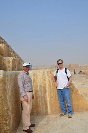 Egypt Tours by Abdo El-Lahamy Private Tour Guide: Khufu's Huge Building Blocks