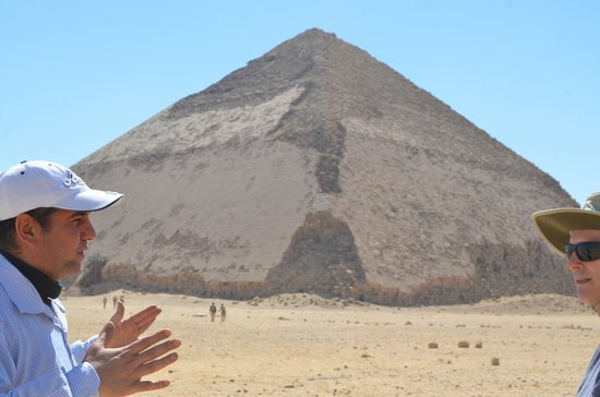 Egypt Tours by Abdo El-Lahamy Private Tour Guide: Bent Pyramid
