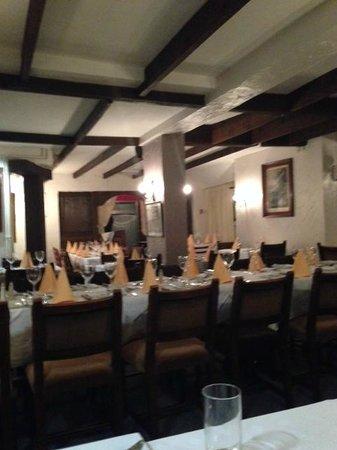 Curro's Restaurant: The main restaurant