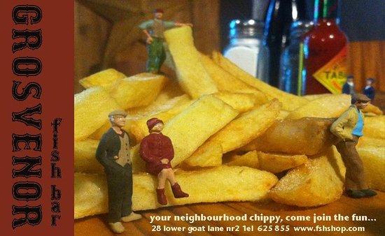 Grosvenor Fish Bar: hey neighbors!