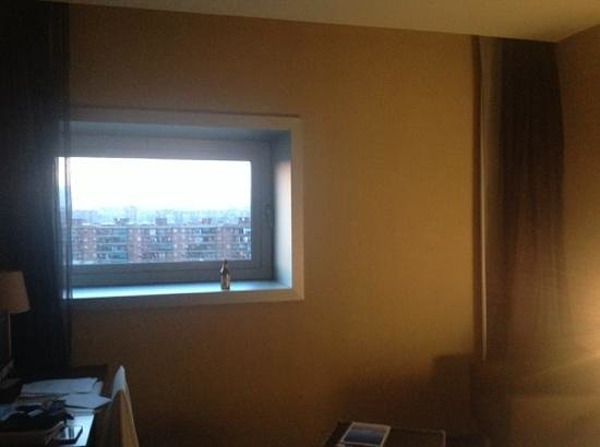AC Hotel Barcelona Forum by Marriott: very small window - felt like luxury prison
