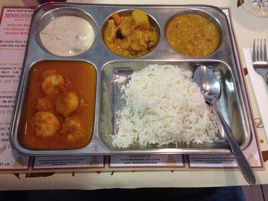 Thali Indian Restaurant: Knast Tablar