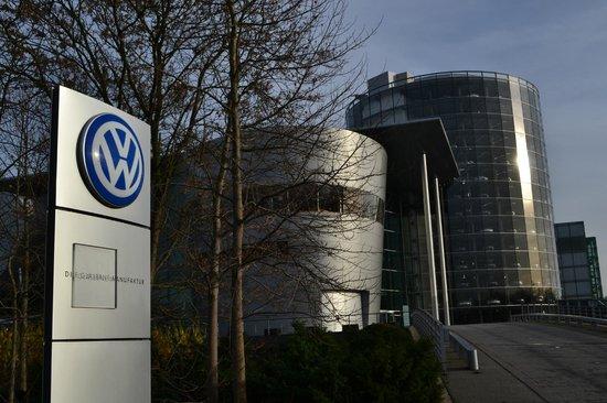 Die Gläserne Manufaktur von Volkswagen: Entrance