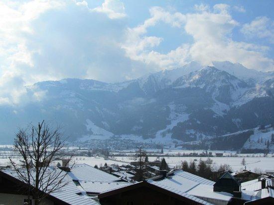 Landhaus Kitzblick: Uitzicht