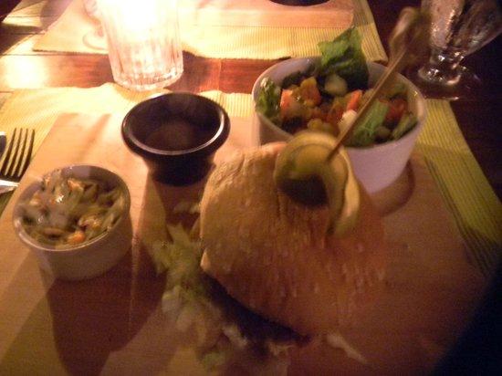 The Chopping Board Kitchen at MOJO: The Mojo burger