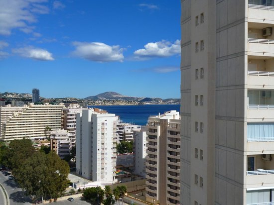 Hotel RH Ifach: Sea view - just about