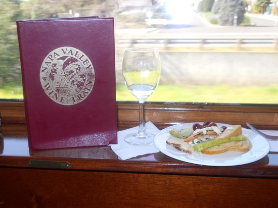 The Westin Verasa Napa : Napa Valley Brunch Wine Train