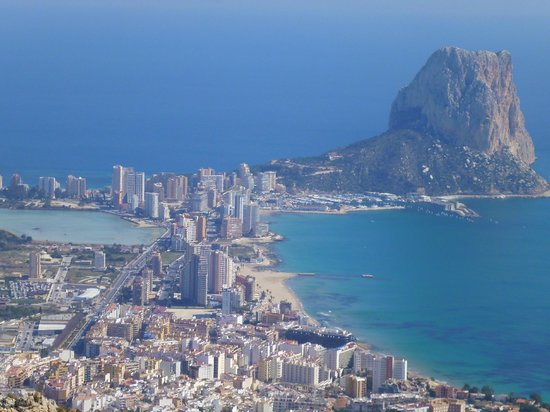 HOTEL SH IFACH: Calpe - Ifach hotel in middle