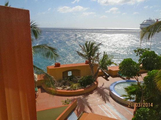 Plaza Hotel Curacao: Our View
