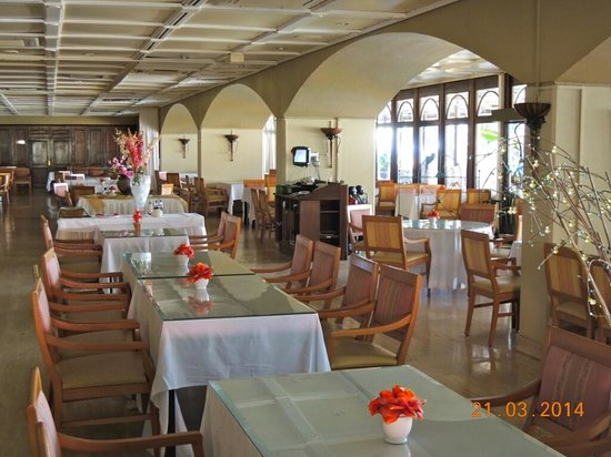 Plaza Hotel Curacao: Dining Room