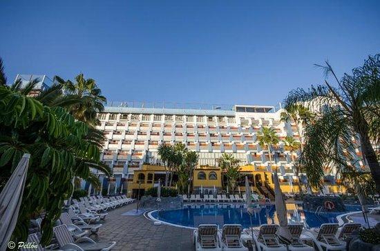 Paradise Park Fun Lifestyle Hotel: Zona de hamacas en la parte principal
