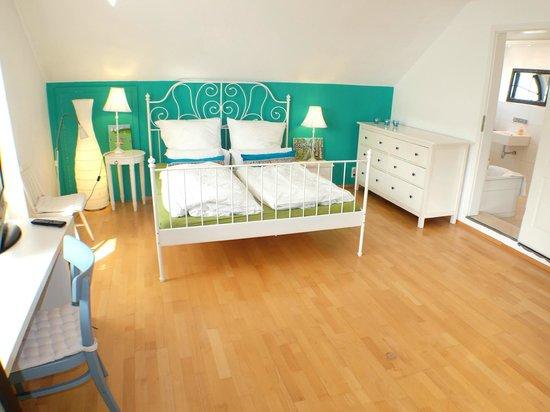 Villa Orchard : Komfort Doppelzimmer mit en suite Bad