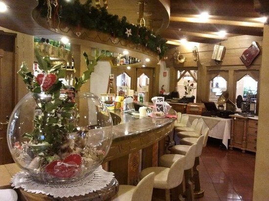 Hotel Piz Galin: il bar