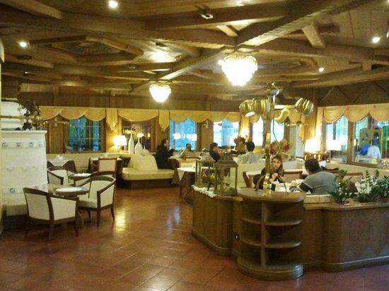 Hotel Piz Galin: la sala