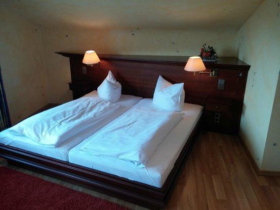 Hotel Rebenhof : letto comodissimo
