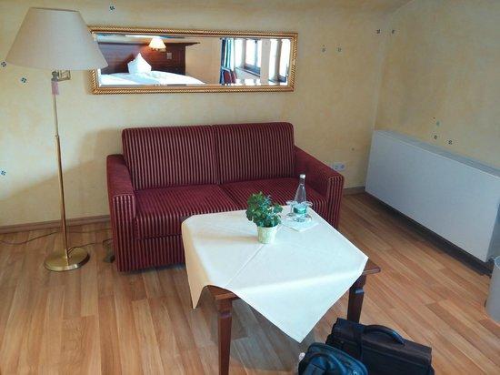 Hotel Rebenhof : living (divano-letto)