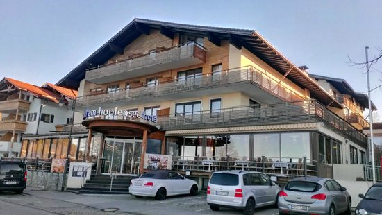 Hotel Am Hopfensee : Внешний вид отеля