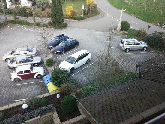 Hotel Rebenhof : parcheggio ampio