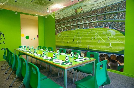 football party room at kids n action picture of kids n action rh tripadvisor co uk party rooms for kids chicago party rooms for kids in kansas city
