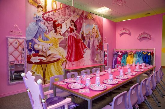 Princess Tea Party Room At Kids N Action Picture Of Kids