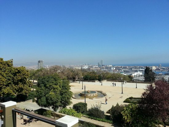Hotel Miramar Barcelona: View from Premium Room