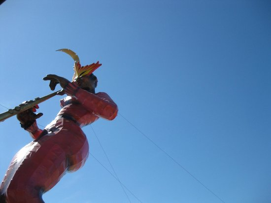 El Cid Marina Beach Hotel: Carnival decorations on the Malecon