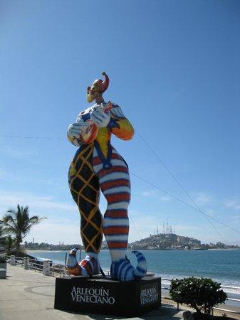 El Cid Marina Beach Hotel: Carnival preparations