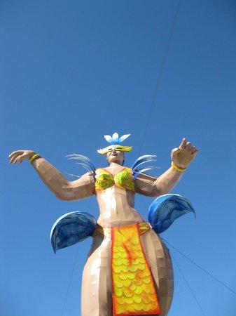 El Cid Marina Beach Hotel: Carnival decorations