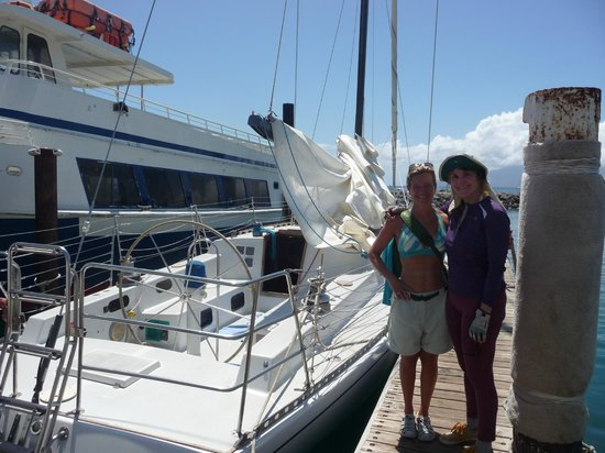 Scotch Mist Sailing Charters : excited for the Scotch Mist II sail/whale watch off Maui