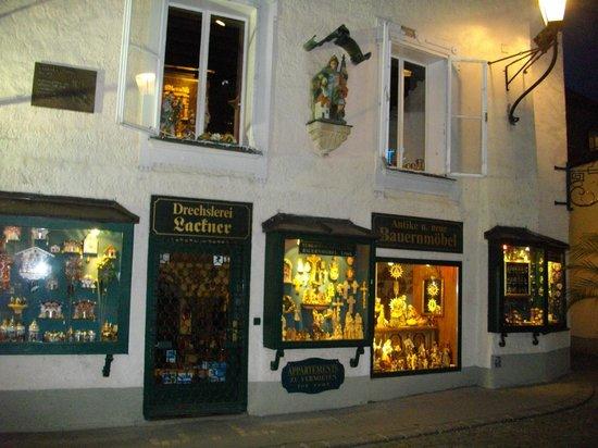Salzburger Altstadt : un rinconcito de los tantos