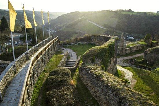 Schloss Rheinfels: wow