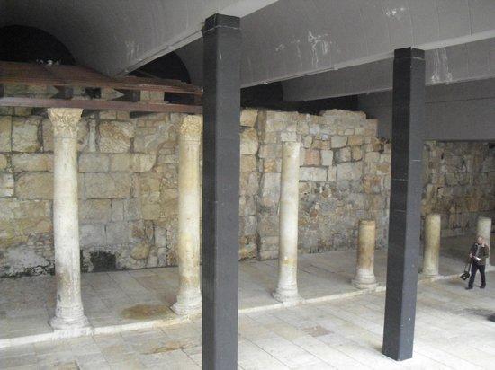 Jewish Quarter: Unicos restos de la Jerusalem romana
