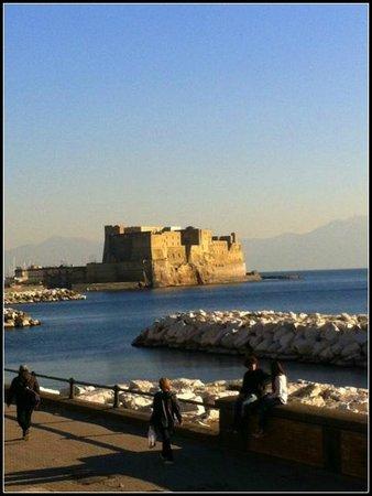 Via Caracciolo e Lungomare di Napoli : Via Caracciolo.
