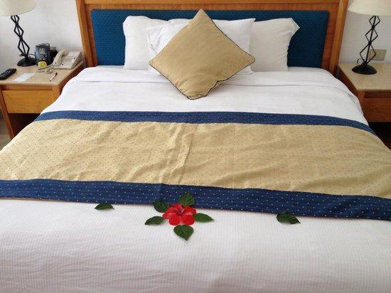 Hilton Sharm El Sheikh Fayrouz Resort : Bed