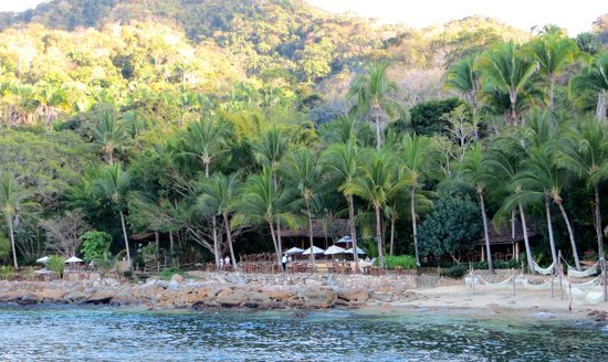 Rhythms of the Night by Vallarta Adventures: Arriving at the cove