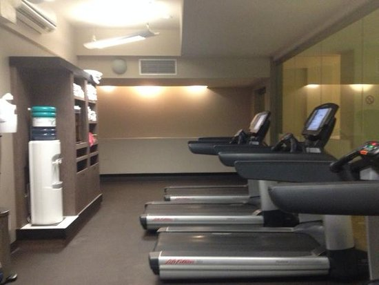 The Westin Edmonton: One area with gym equipment