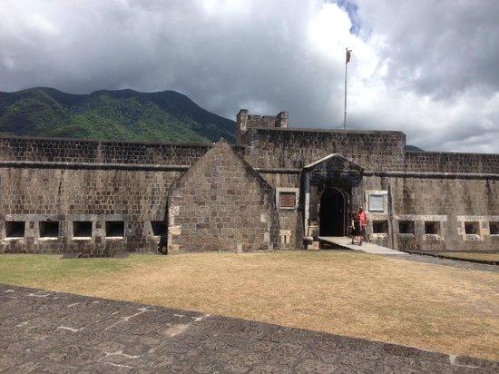 La forteresse de Brimstone Hill : Brimstone Hill Fortress