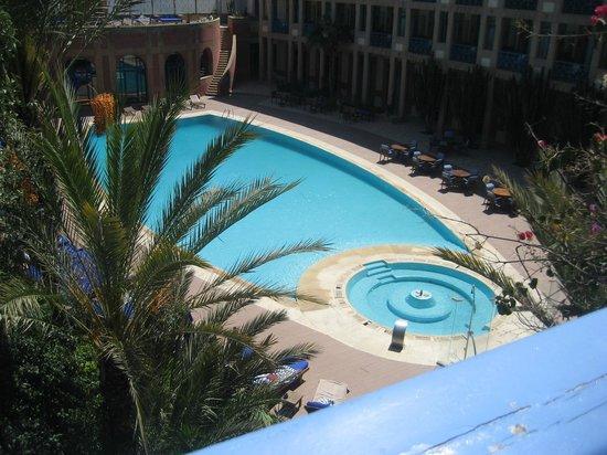 Le Medina Essaouira Hotel Thalassa Sea & Spa - MGallery Collection: piscine vue de la chambre