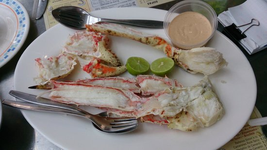 Fisher's Nápoles: King crab