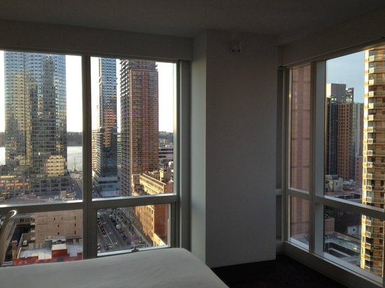 YOTEL New York at Times Square West : The corner rooms are worth it if you can get them
