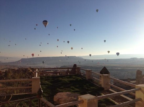 Argos in Cappadocia: View from our balcony