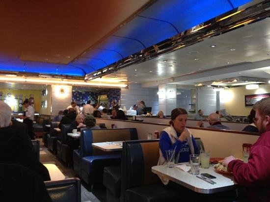 Tick Tock Diner: a general view of the place