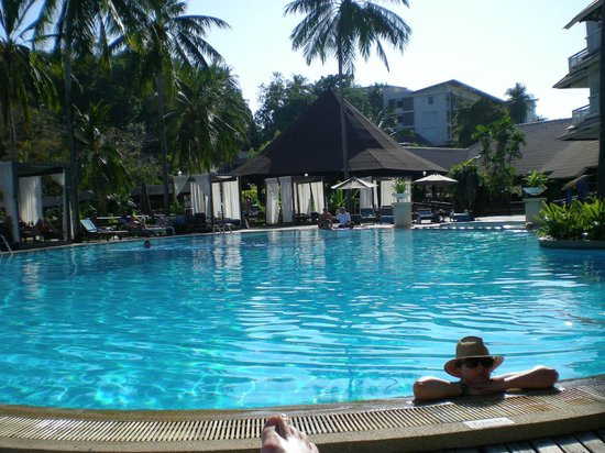 Cape Panwa Hotel: Pool area