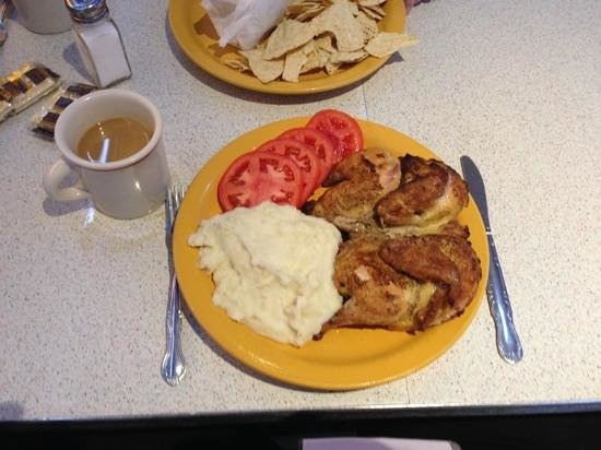Tick Tock Diner: the Cornish Hen which was just ok