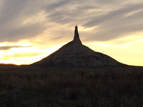 Chimney Rock National Historic Site: Worth a visit.  Interesting geological landmark that has played such an important part in westwa