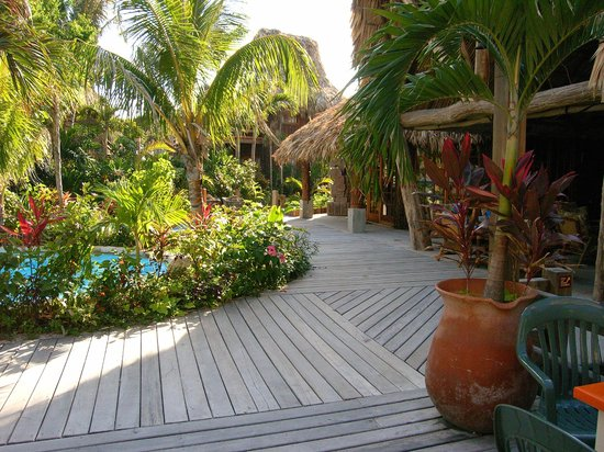 Ramon's Village Resort: pool/restaurant area